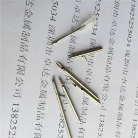 医用不锈钢毛细管 磨尖 开槽 刻度 304精密毛细管加工