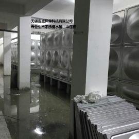 供应湖南长沙168吨方形不锈钢水箱及304水箱冲压板