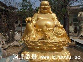 弥勒佛铜像
