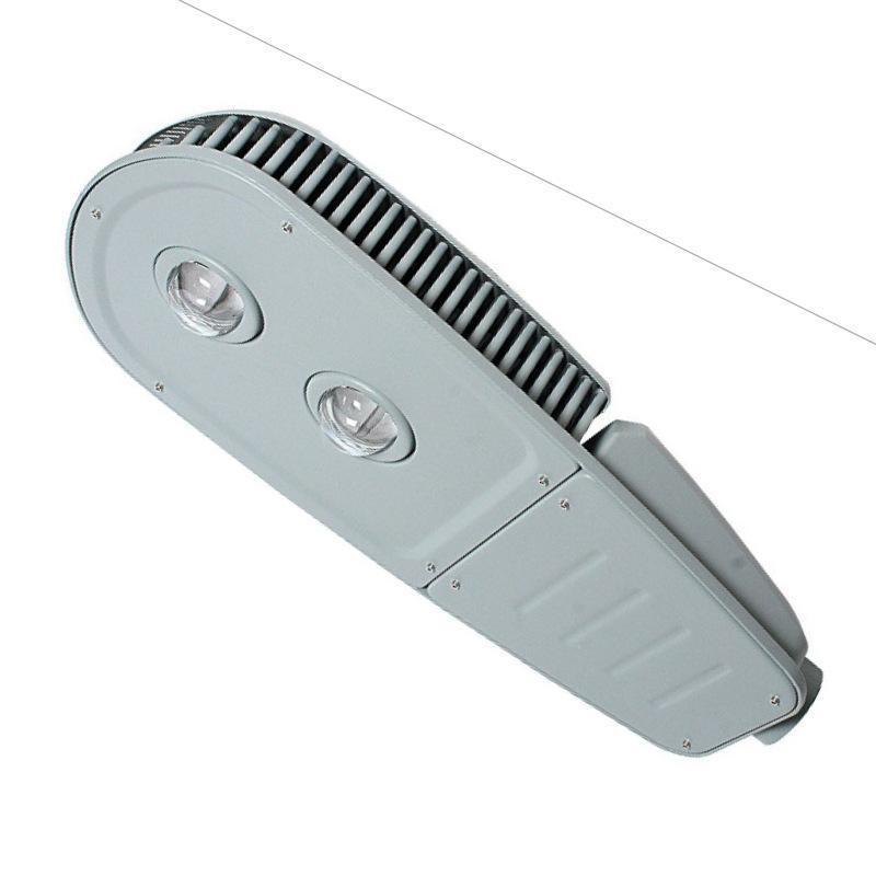 led路灯头 100W120W200W集成压铸led路灯外壳套件 牛眼道路照明灯