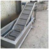 注塑機冷卻爬坡輸送設備,廠家直銷爬坡輸送機設備