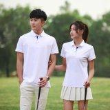 印字logo夏季工作服定製t恤短袖polo衫刺繡工衣文化衫diy訂做衣服