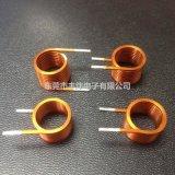 供应扁平铜线圈电感 大电流电感 扁平变压器 电感线圈加工