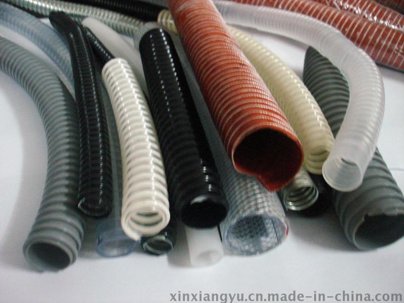 黑色塑筋管,PVC排污管,塑筋增強排水管