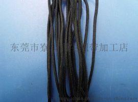 润生1.5mm粗黑色密纹尼龙绳