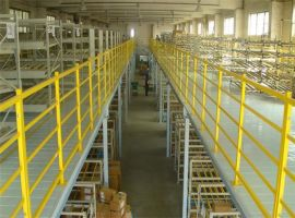 正耀阁楼式二层钢平台8415阁楼式货架