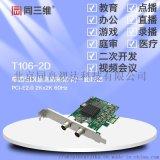 同三维T106-2D单路SDI超高清音视频采集卡