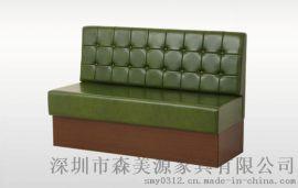 奶茶店桌椅西餐咖啡厅沙发桌椅组合茶餐厅卡座沙发桌椅