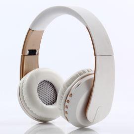 頭戴式藍牙耳機插卡外貿耳機