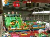 河北沧州充气蹦床大型儿童充气滑梯
