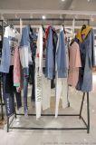 乐町东莞品牌女装尾货批发市场女装 批发品牌折扣服装尾货绿色大衣