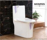 坐便器,蒙諾雷斯彩金馬桶6069A紫蘭花,座便器