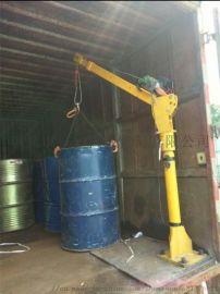 车载式1吨2T汽货车装卸货12V 24V液压吊机
