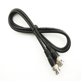 BNC公对公 1米 BNC公跳线公过机线 Q9视频线监控配件 BNC线连接线