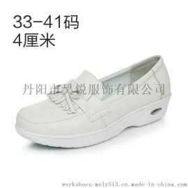 515 2016年秋季 新款护士鞋 33~41码 大小码白色防滑减压轻便气垫底
