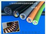 上海百勝廠家供應柔性坦克鏈專用拖鏈電纜,耐彎曲拖鏈電纜