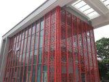 外牆鋁方通  焊接鋁窗花 木紋型材鋁方管