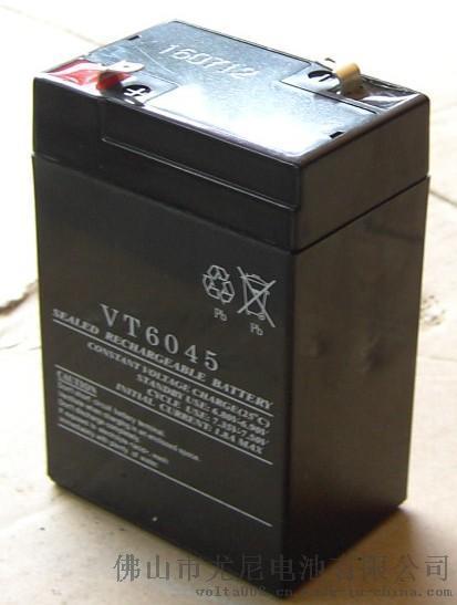后备专用蓄电池6V4.5AH铅酸蓄电池