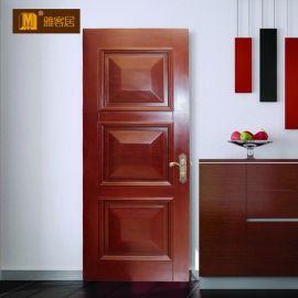 武汉木门厂定制实木门面包门烤漆门室内门房门隐形门y012
