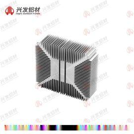 广东兴发铝材|开模定做铝型材散热器|6063T**金