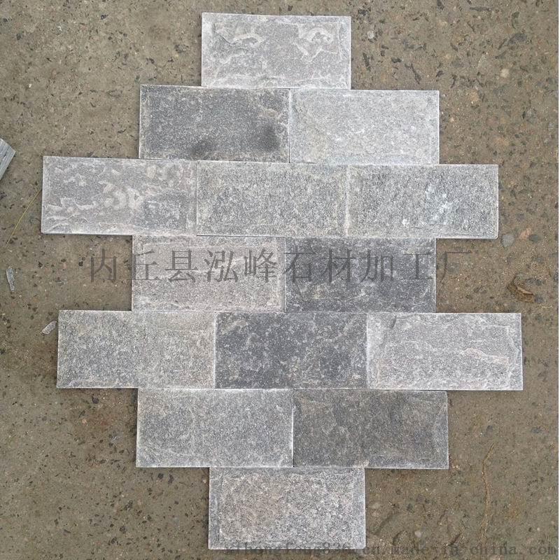 灰色文化石廠家灰色蘑菇石廠家泓峯石材