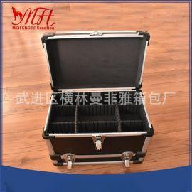厂家直供便携式加强型铝合金工具圆角中圆管密码锁仪器箱质量保障