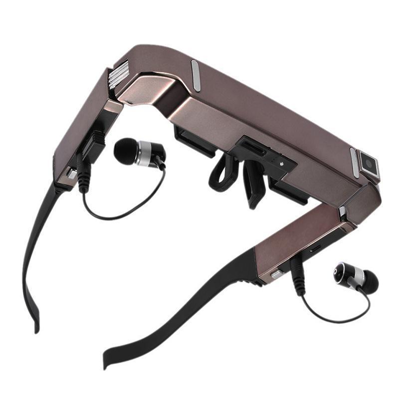 迷你智能VR BOX一体机3D虚拟现实视频眼镜头戴盔显示器蓝牙拍照