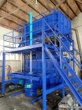 新美河北TDP-12海綿再生機用於海綿的邊角料再次成型用於鞋墊的生產