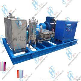 工业换热器冷凝器高压管道清洗机 高压冷水清洗机