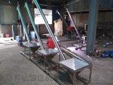 不鏽鋼粉料裝袋絞龍 304材質傾斜管式提升機