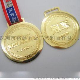 厂家定制上海马拉松赛事铜奖牌