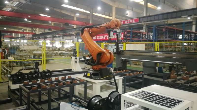 軌道車輛抗側滾扭杆智慧組裝測試生產線廣州滄恆