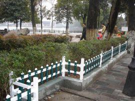 河北保定社区围栏 别墅护栏 pvc护栏定做