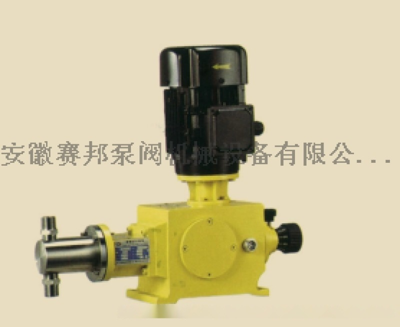 J-W(J-X)型系列柱塞计量泵