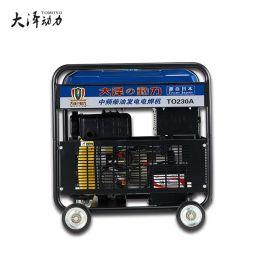 大泽动力230A柴油发电焊机电启动一体机