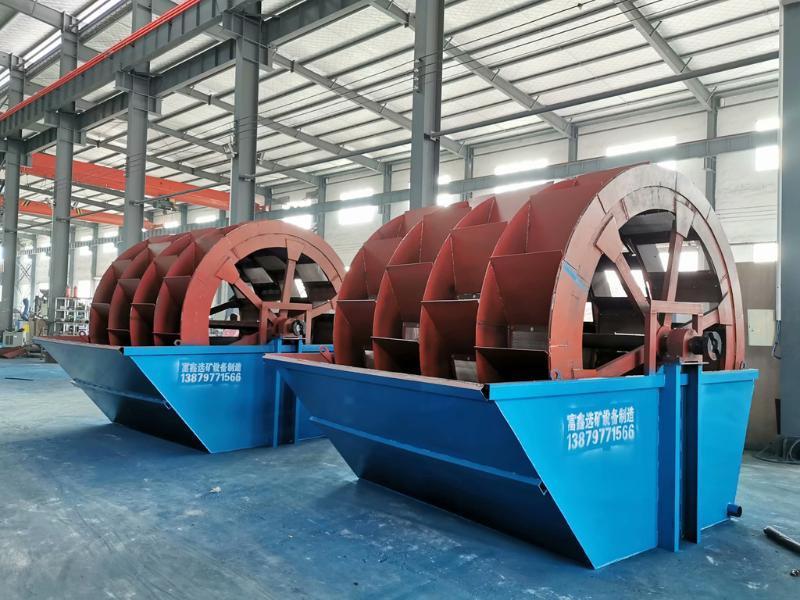湛江市大型破碎制沙碎石制砂机设备全套小型螺旋轮斗式洗沙机移动式洗砂
