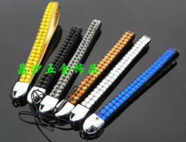 晶沙-A850镶钻手机绳