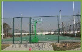 陝西籠式日字形球場圍網陝西框架式籃球場拼裝地板圍網