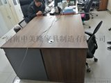鄭州中美隆傢俱廠批發採購定製板式辦公桌電腦桌洽談桌接待桌職員桌