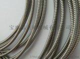 供应不锈钢单扣软管 不锈钢护线管工业仪器穿线用