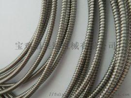 供應不鏽鋼單扣軟管 不鏽鋼護線管工業儀器穿線用