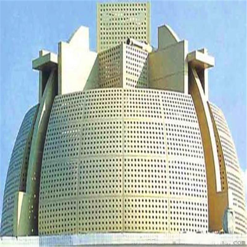 进口氟碳冲孔铝单板 外墙不规则流程铝单板