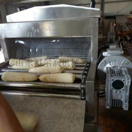 玉米高压清洗机 气泡履带玉米清洗机 玉米加工流水线