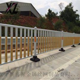 交通防护栏杆、锌钢道路护栏、交通市政道路护栏