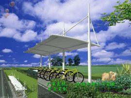 河北汽车停车棚公司、沧州自行车棚制作厂家