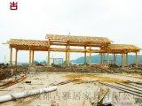 四川長廊廠家,廊亭,廊橋設計加工,實木廊架批發價格