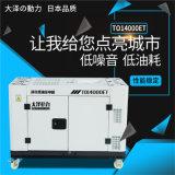 大澤15千瓦靜音水冷柴油發電機組