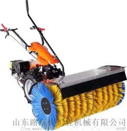 手推式滚刷扫雪机电动燃油扫雪机 多功能除雪机