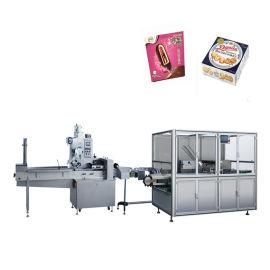 食品装盒机,咖啡装盒机,咖啡袋装盒生产线