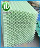 厂家直销pp六角蜂窝斜管填料斜板填料 污水处理